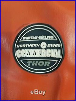 Northern Diver Thor Commercial Scuba Dive Drysuit XL Unisex
