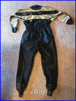OS Systems Drysuit XL MADE IN USA 427909511XLK Dry Suit Scuba Kayak Surf Paddle
