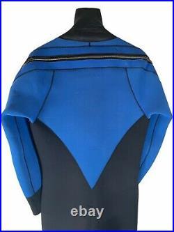 O'Neill Drysuit 7.5 mm Scuba Neoprene Large L Style 403939 Blue Black Dry Suit