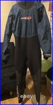 O'Neill Oneill Dry Suit Ski Scuba Watersport Size Large