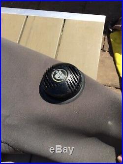 O'Three Custom Scuba dry suit in Ri2-100 compressed neoprene