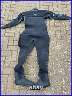 O'Three Neoprene MSF 500 Scuba Diving Drysuit Ladies Size 12 Boots UK6