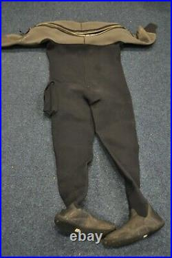 O'Three Neoprene Ri 2-100 Scuba Diving Drysuit Mens XL Drysuit Boots UK 10