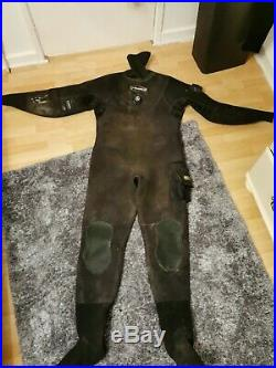 O'Three Neoprene Scuba Diving Dry Suit XL Size 9/10 Boots port 10 offers welcome