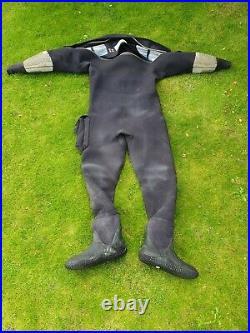 O'Three Ri 2-100 Flex scuba diving drysuit size medium VGC RRP £1375 Bargain