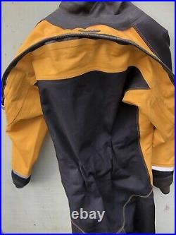 Oceanic HD400 Membrane Drysuit XXL Boots 10 Diving Equipment Scuba Gear Emerson