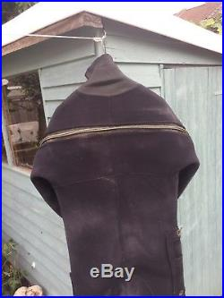Oceanic SCUBA dry suit 5 foot 7-10 Shoes 7/8. Replaced valves and wrist seals