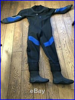 Oceanic Scuba Diving Dry Suit. Ladies Large With Uk7 Boot BRAND NEW