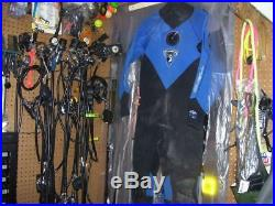 Oneill Neoprene Rubber Drysuit 4 Scuba Diving Size Ls