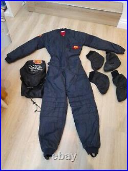 Otter Arctic Deluxe 200 Undersuit and booties womens small Scuba diving