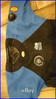 Otter Cordura Drysuit Scuba XL Hardly Used With Thermal Undersuit Included