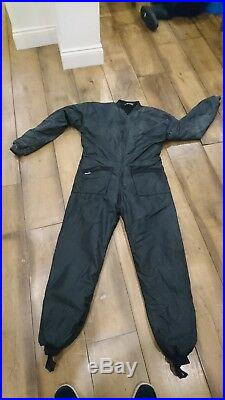 Otter Cordura Scuba Drysuit XL Hardly Used With Thermal Undersuit Included