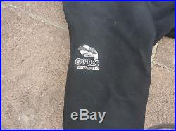 Otter Dry suit for scuba diving Size Large