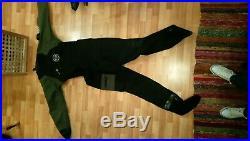 Otter Hammerhead Membrane Drysuit with Undersuit, Hood, Bag. SCUBA