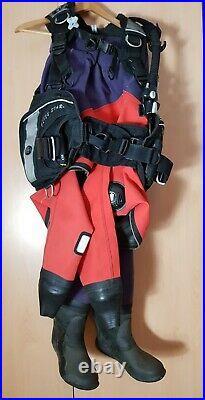 Otter Scuba Diving Dry Suit, Thermal Under Suit and Scuba Pro BCD