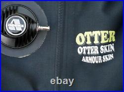 Otter Velvet Skin Scuba Drysuit VGC Size MTM Ladies ML Boots 7 Latex Seals