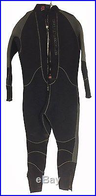 Pinnacle 7mm Merino Wool Lined Element Cold Water Scuba diving semi Dri Suit 4XL