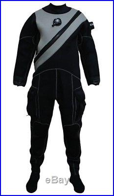 Pinnacle Black Ice Drysuit Size Small Cold Water Gear Scuba Diving Equipment