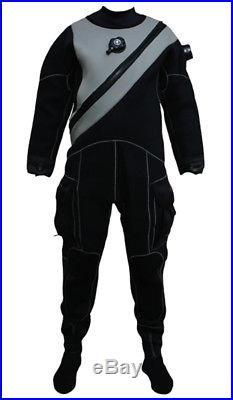 Pinnacle Black Ice Scuba Diving Unisex Merino Drysuit