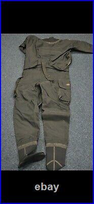 Pinnacle Scuba Diving Drysuit Freedom 3 Front Entry Large Drysuit