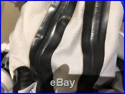 Pinnacle evolution 3 scuba diving cordura tech drysuit with boots size XL