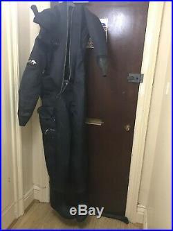 Polar Bears Atlantis Dry Suit Drysuit Scuba Diving Medium