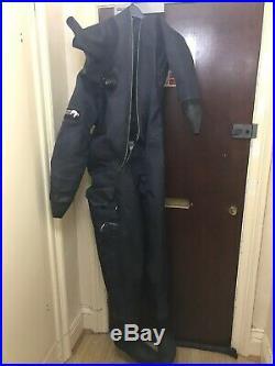 Polar Bears Atlantis Front Entry Cuff Dump Dry Suit Drysuit Scuba Diving Medium