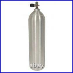 Pony Flasche Aluminium Behälter Scuba Tauchen 19 Cubic Fuß Bürste