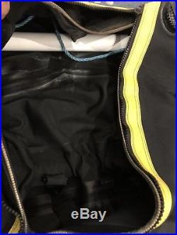 Predator Apeks Dry Suit Scuba Diving Equipment Size L-foot Size 9UK