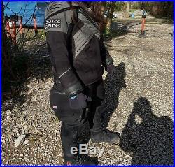 Predator Scuba Diving Ladies DrySuit Size ML Light Use