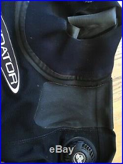 Predator Trilaminate Scuba Diving Drysuit Dry Suit Handmade in UK