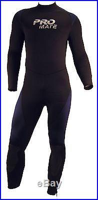 Promate Avalon 6mm Men's 2-Piece Hooded Semi-Dry Full Suit Scuba Diving Wetsuit
