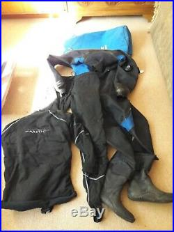Quality Scuba Diving Dry Suit and Arctic Forth Element Trousers and Top
