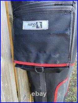 ROHO Tri-laminate Scuba Drysuit Mens Front Zip 12 Months Old & KUBI 90mm