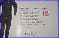 SCUBAPRO EVERDRY 4 MEN'S SCUBA DIVE DRYSUIT, Size LS