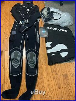 SCUBAPRO Scuba Diving Drysuit size XL
