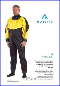 SCUBA AZDRY Pro Dive Dry Suit (Slightly used). Large, size 8 boots
