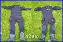 SCUBA Commercial Drysuit, Otter brand, Neoprene 7/8 mm, Men, Large, 10 UK shoe