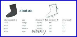 SCUBA DIVING DRY SUIT 2D LATEX SOCKS (LARGE shoe 9-10) WITH TAPE