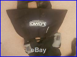 SCUBA DIVING DRY SUIT Dive Sys 2000 Apex Valves with bag and inflation hose