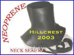 SCUBA DIVING DRY SUIT NEOPRENE NECK SEAL made 2 measure