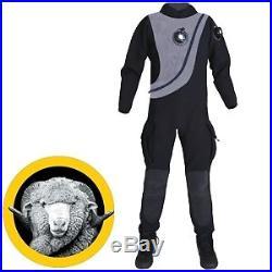 SCUBA Dining Pinnacle Black Ice Neoprene Dry Suit
