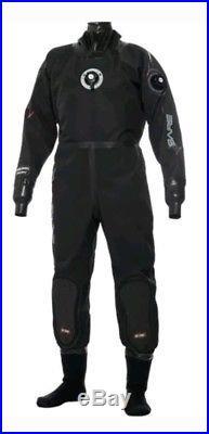 SCUBA Dry Suit, Bare NEXGEN Pro Size L shoes facemask undergarments