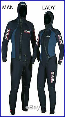 SEAC Ladies 5mm 2 Piece Scuba Diving WETSUIT in size XL Sale RRP £159