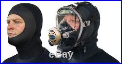 SEASOFT PRO / M6 6 mm Drysuit Hood for wearing with SCUBA Full Face Mask