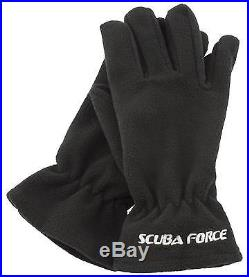 SF-1 TopDeal ScubaForce Thenar Ring Set mit Latex Handschuhen