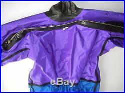 STAY DRY Pro Edition Impact Purple/Blue WET SUIT Scuba Diving Size Adult LARGE