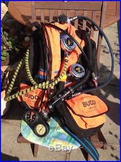 Scuba Divers Drysuit & Equipment Stab Jacket, Gauges, Valves