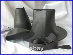 Scuba Diving Dry Suit Large Contour Neck Seal & Cone Wrist Seal With Tape