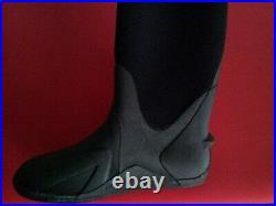 Scuba Diving Dry Suit Neoprene Boots size M